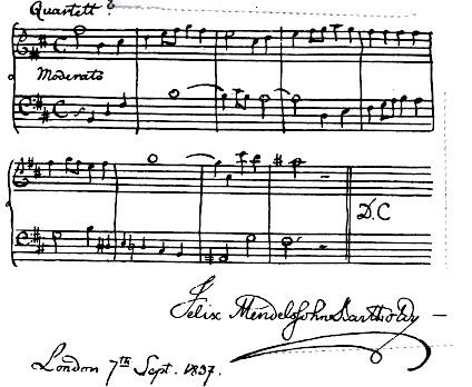 Quartett Mendelssohn